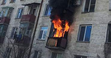 На улице Тудора Владимиреску в жилом доме вспыхнул сильный пожар.