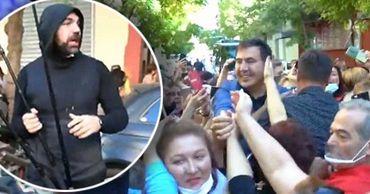 Михаила Саакашвили избили в Афинах