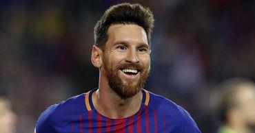 Футболист испанского клуба «Барселона» Лионель Месси.