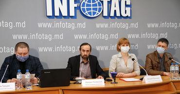 """Пресс-конференция в в агентстве """"Инфотаг""""."""