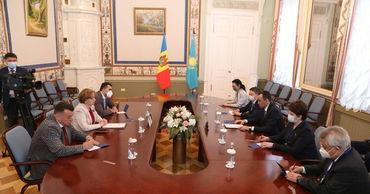Гречаный встретилась с Председателем Сената Парламента Казахстана