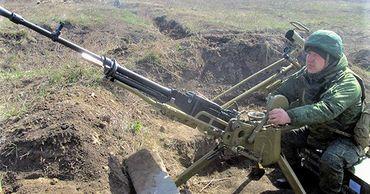 Военные провели в Приднестровье стрельбы из крупнокалиберного пулемета