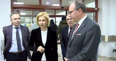 Башкан и посол Румынии посетили комратскую больницу и лицей Еминеску.