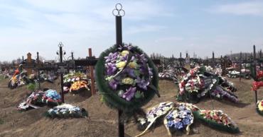 На одном из бельцких кладбищ воруют мраморные надгробия с могил.