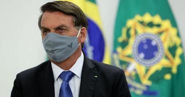 ПрезидентБразилииЖаир Болсонару.