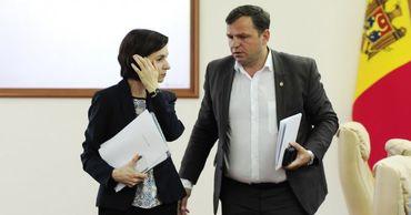 Андрей Нэстасе встретился с президентом Майей Санду.