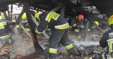 В Чимишлии загорелся двухэтажный дом