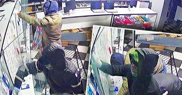 В Бельцах обокрали еще один магазин по продаже телефонов.