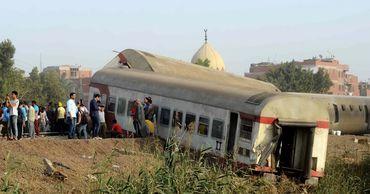 В результате крушения поезда в Египте погибли 11 человек.