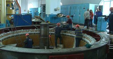 На Дубоссарской ГЭС ремонтируют гидроагрегаты