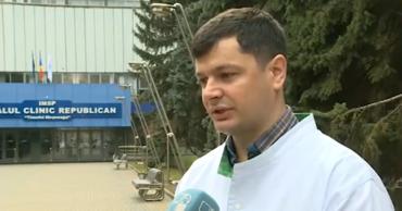 Завотделением интенсивной терапии РКБ Александр Ботезату.