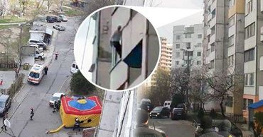 В Кишиневе мужчина угрожал выброситься из окна