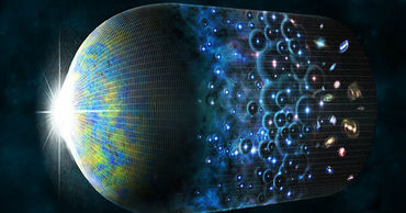 Ученые подтвердили, что до нашей Вселенной существовало еще что-то. Фото: ria.ru.