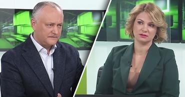 Додона раскритиковали в прямом эфире телеканала, связанного с ПСРМ. Коллаж: Point.md