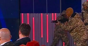 Шоу пошло не так. Украинский телеканал «Прямой» извинился за неудачную шутку в эфире.