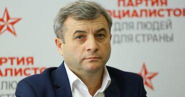 Лидер фракции социалистов в Парламенте Корнелиу Фуркулицэ.