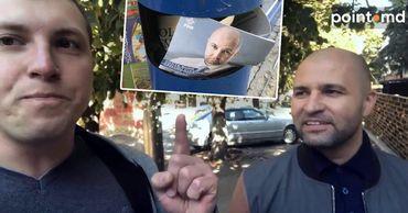 Григорчук выкинул листовки Чеботаря в урну и пожелал ему тюрьмы.