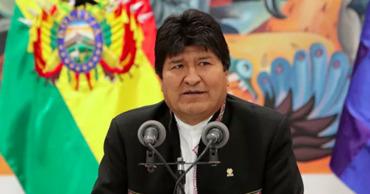 Президент Боливии Эво Моралес.