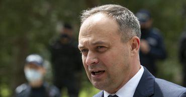 Лидер группы Pro Moldova Андриан Канду.
