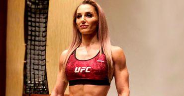 Уроженка Вулканешт Александра Албу выступает в сильнейшей лиге мира UFC.
