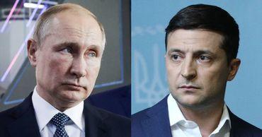 """Путин и Зеленский обсудили подготовку к следующей встрече лидеров """"нормандской четверки""""."""