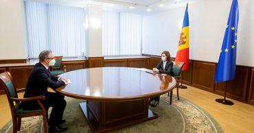 Майя Санду обсудила с главой ОБСЕ урегулирование приднестровского конфликта.