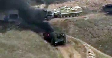 Карабах заявил, что Азербайджан потерял в бою десять танков. Фото: ria.ru.