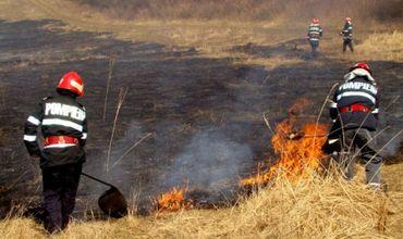 Государственная гидрометеорологическая служба объявила желтый уровень опасности в связи с возможными пожарами в южной части страны.