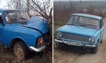 Подростки из Криулян угнали два автомобиля и один разбили.