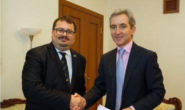 Вице-премьер Юрие Лянкэ провел встречу с послом ЕС в Кишиневе.