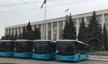 Новые автобусы Isuzu прибыли в Кишинев.