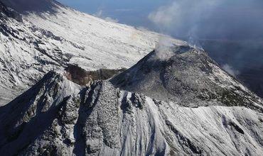 Безымянный – это один из действующих вулканов Камчатки, и один из самых активных в мире.
