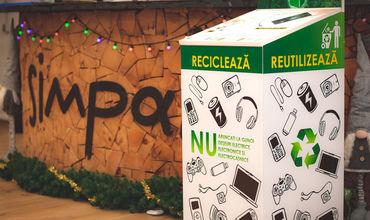 Компания Simpals — участник проекта «Чистый город с переработанными е-отходами».