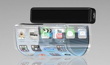 Проект нового смартфона предполагает использование гибкого сенсорного экрана.