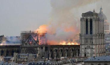 Сильный пожар в знаменитом соборе Парижской Богоматери вспыхнул вечером 15 апреля.