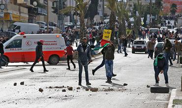 На Западном берегу реки Иордан вспыхнули столкновения.