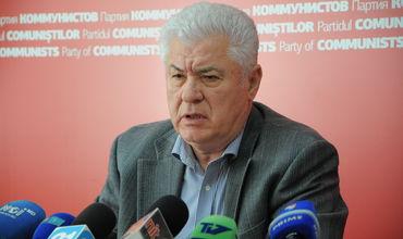 Председатель Партии коммунистов Владимир Воронин.