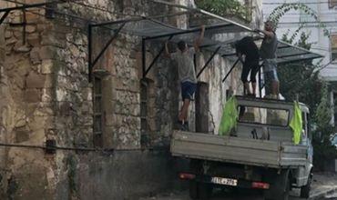 В Кишиневе памятник архитектуры превращается в место для парковки