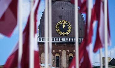 Жителя Латвии оштрафовали за флаг СССР.