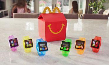 Браслеты из детского набора McDonald's вызывают аллергию.