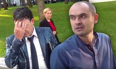 Уголовный процесс против активиста Доникэ, который облил Армашу молоком, остановлен.