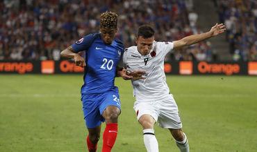 Сборная Франции обыграла Албанию на Евро-2016.