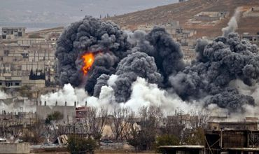 Российская авиация нанесла удары по позициям повстанцев, сражающихся против «Исламского государства».