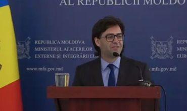 Министр иностранных дел и европейской интеграции Николай Попеску.