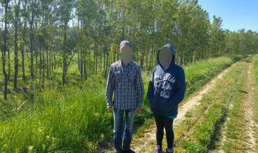 Брата и сестру из Молдовы задержали за незаконное пересечение границы Румынии.