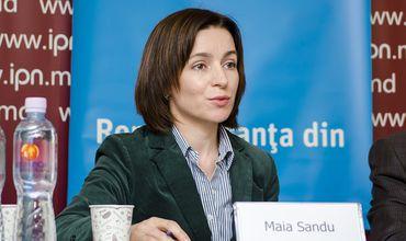 Майя Санду: Правые партии могут выдвинуть единого кандидата