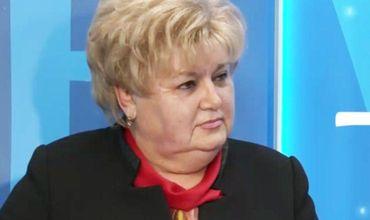 """Кандидат от партии """"Шор"""" Регина Апостолова."""