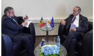 Глава молдавской дипломатии провел встречу с министром иностранных дел Кипра.