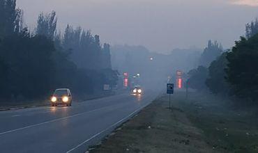 Жители Бельц задыхаются от дыма тлеющей свалки.