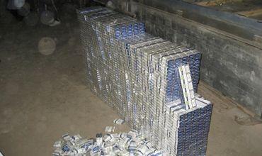 Обнаружено 13130 пачек сигарет с акцизными марками Республики Молдова.